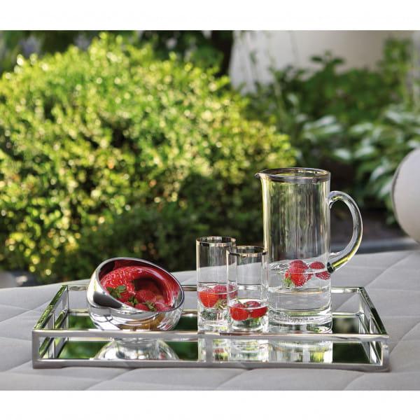 Fink Living Glaskrug Platinum - Ambiente, Outdoor