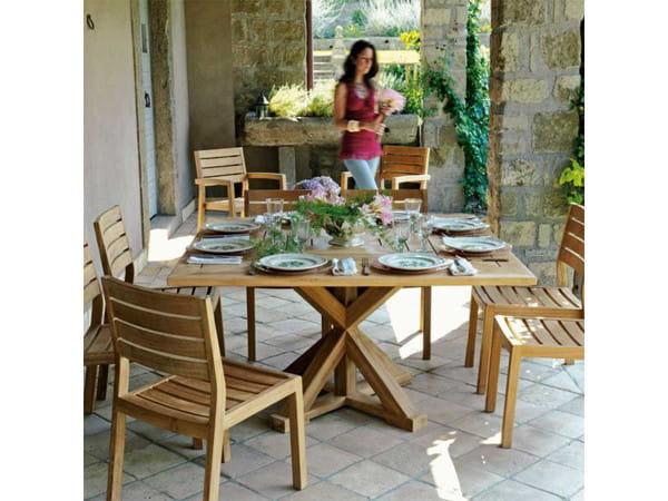 Gartentisch Cronos - quadratisch