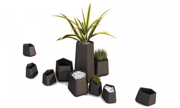Pflanzgefäß Rock Garden - Medium