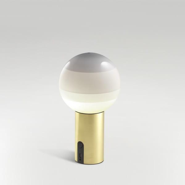 marset Akku-Leuchte LED Dipping Light Perlweiß