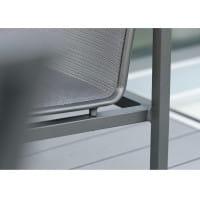 Stern Loungesessel Skelby - Anthrazit / Karbon, Detail