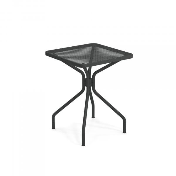 emu Gartentisch 60x60 - 22 Antikeisen - von hinten