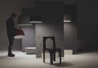 marset Pendelleuchte LED Djembe Ambiente Installation