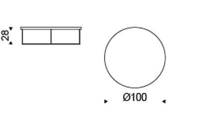 Couchtisch Billy Wood - 100cm