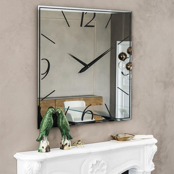Spiegel-Uhr Moment - 90 x 90 cm