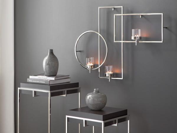 Fink Living Escala - Wanddekoration mit Glas, 3-flammig - Ambiente