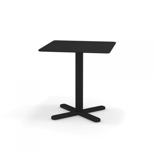 emu Darwin Balkontisch 70x70 - 24 Schwarz - hinten