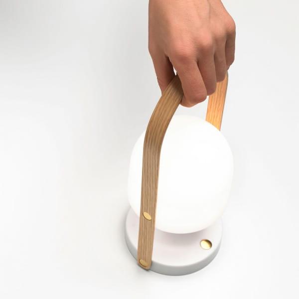 marset Tischleuchte LED FollowMe tragbar