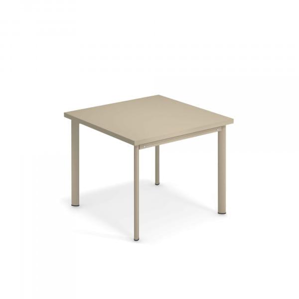emu Outdoor Tisch Star 90 x 90 cm - 71 Taupe