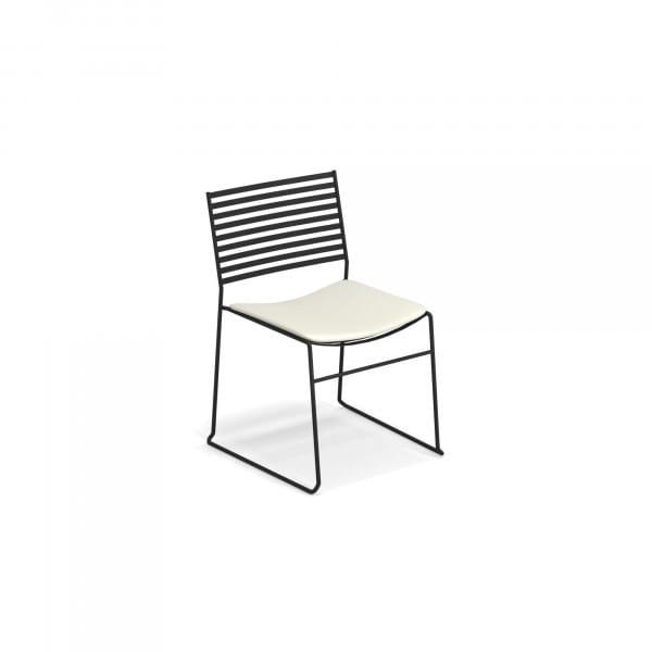 emu Outdoor Auflage Aero Gartenstuhl Sitzkissen - Weiß