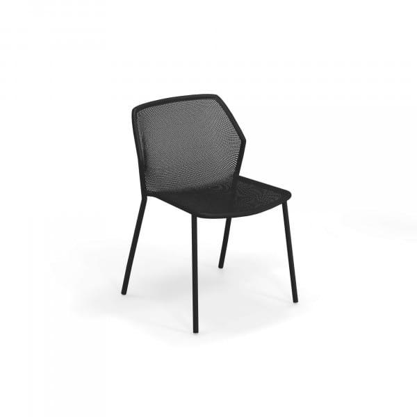 emu Darwin Gartenstuhl ohne Armlehnen - 24 Schwarz