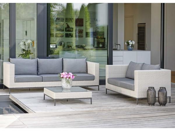 3-Sitzer-Garten-/Loungesofa Fontana