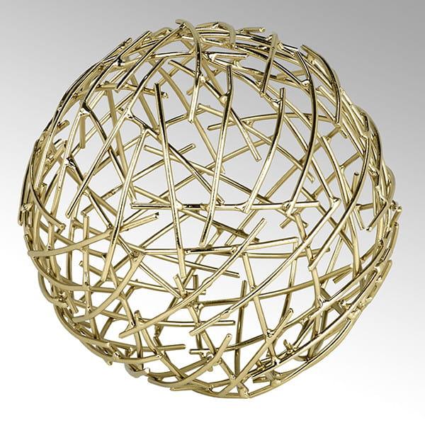 Lambert Dekokugel Micado in Gold - Durchmesser 16 cm