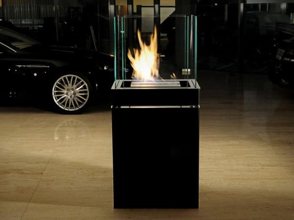 Ethanolkamin Semi Flame Edelstahl