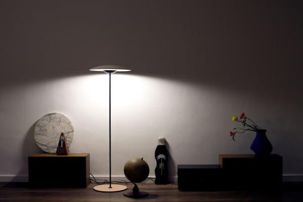 marset Stehleuchte LED Ginger P Eiche Ambiente 3