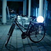 Moonlight Vollkugel Akkuleuchte BMFL Weiß Ambiente Fahrrad