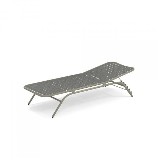 emu Outdoor Liege Yard (stapelbar) - 37-64 Hellgrau - Grau/Grün