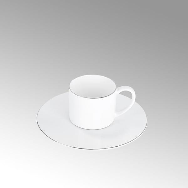Lambert Espressotasse Serene Weiß mit oder ohne Platinrand