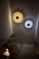 marset Wandleuchte LED Concentric Corona und Minor Ambiente Treppe