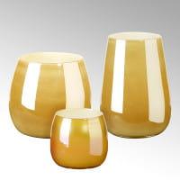 Vase Porto von Lambert Sunrise Metallic verschiedene Größen