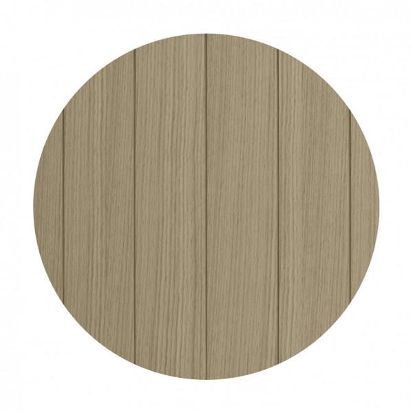 Temahome Couchtisch Ply - 50 cm Durchmesser, Draufsicht