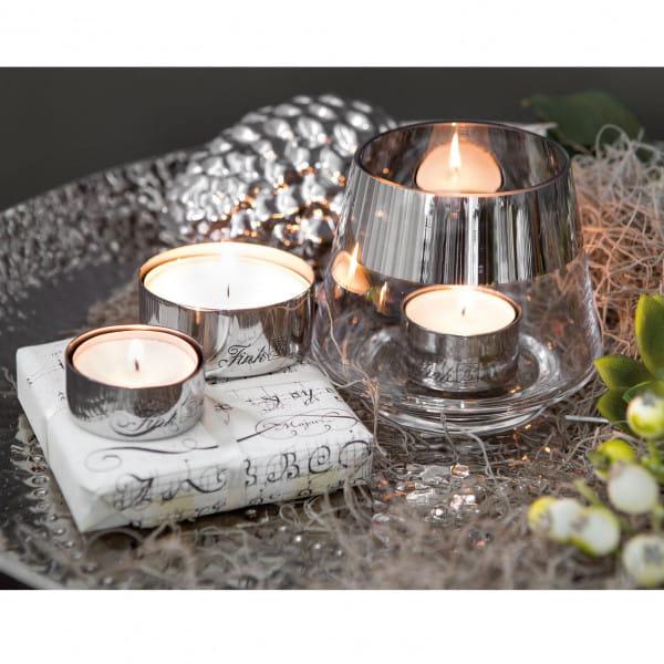 Fink Living Teelichthalter Living- 2er Set - Ambiente