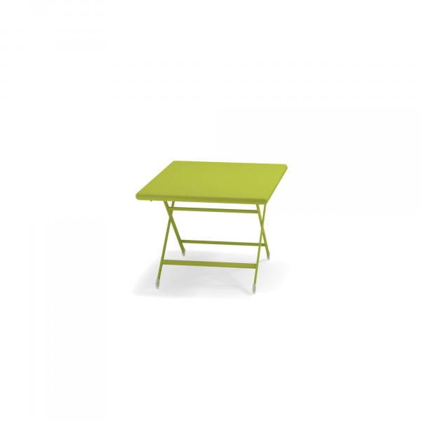 emu Arc en Ciel Gartentisch niedrig - 60 Grün - von hinten