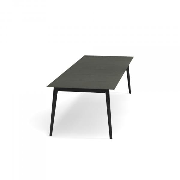 emu Outdoor-Esstisch Kira (ausziehbar) - 24-38 Schwarz-Dunkelgrau