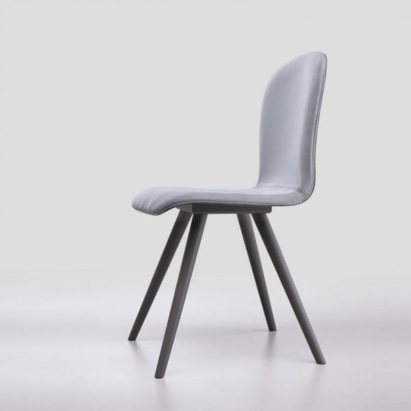 Italienischer Design Stuhl Milano - Wood