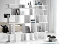 Stand-Regal Loft - Weiß