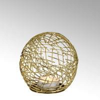 Lambert Windlicht Micado Gold - Durchmesser 15 cm