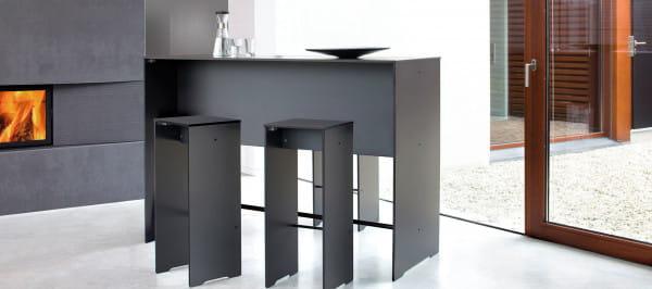 conmoto Barhocker Riva Design Anthrazit