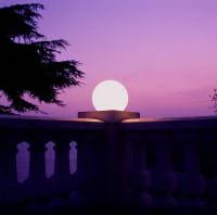 MAG Aufschraubsockel Ambiente Sonnenuntergang Ballustrade Weiß