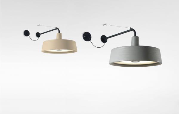 marset Soho 38 A LED und A LED (IP44) Sand und Himmelblau Vergleich