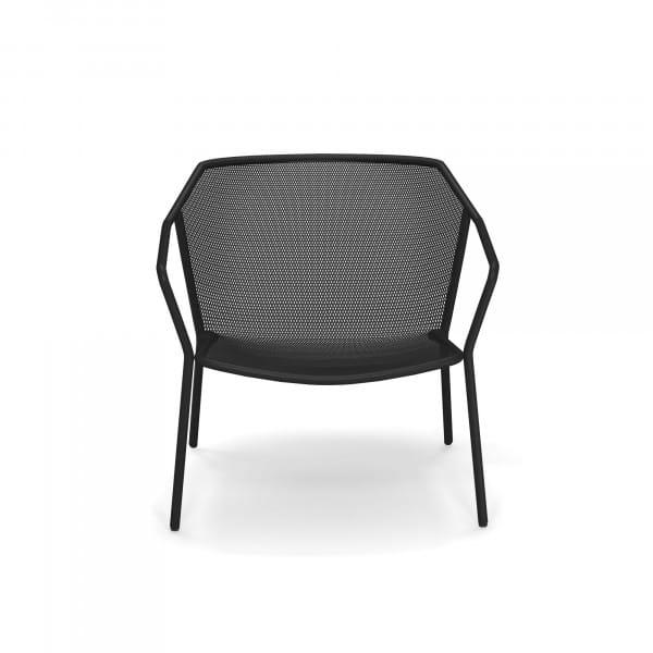 emu Darwin Loungesessel - 24 Schwarz - vorne