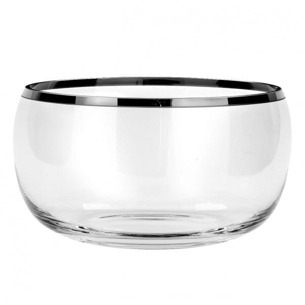 Fink Living Glas-Schale Platinum - 13 cm Durchmesser