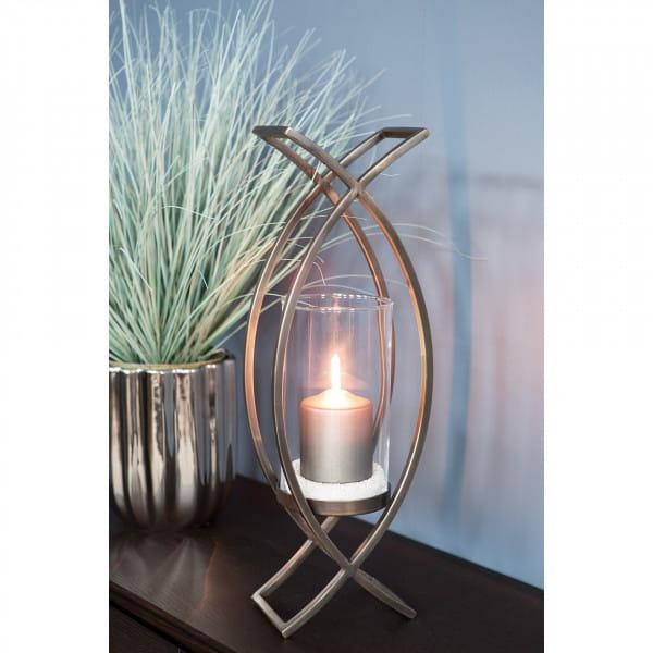 Windlicht Maddox mit Glas