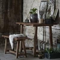 Sika Design Bank Lucas - recyceltes Teakholz