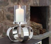 Fink Living Kerzenleuchter Gorden - Single, Ambiente mit Glasaufsatz