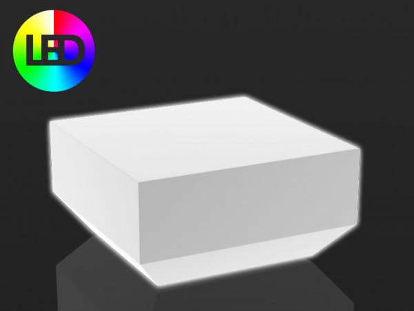 Beleuchteter Couchtisch Vela - 60 x 60 cm