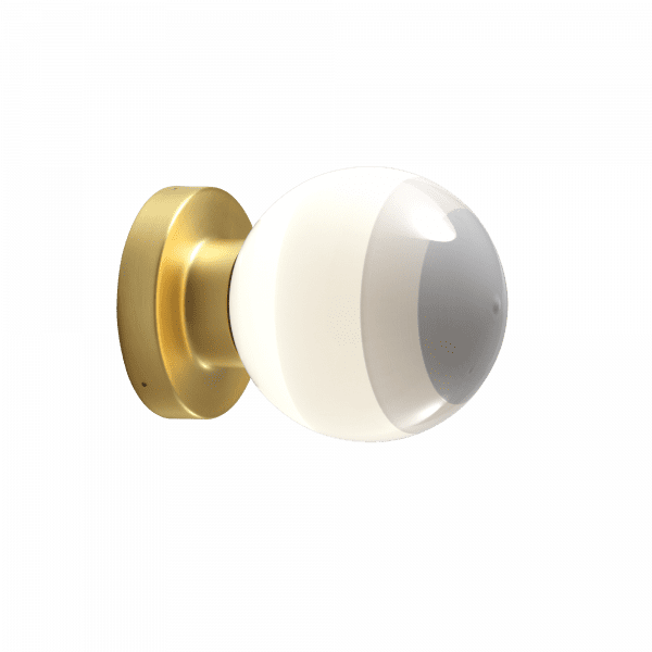 marset Wandleuchte LED Dipping Light A2-13 Perlweiß cut-out