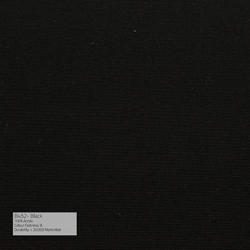 Sika Design Exterior Hocker Monet Alu Outdoor - Kissen Black