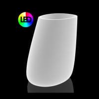 Beleuchtetes Pflanzgefäß Stone XL