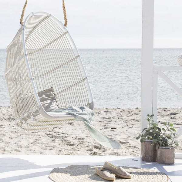Sika Design Exterior Hängesessel Renoir Alu Outdoor Dove White