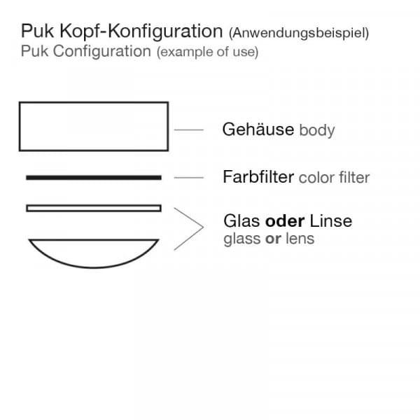 Drehbarer Deckenspot Puk Maxx Move G9