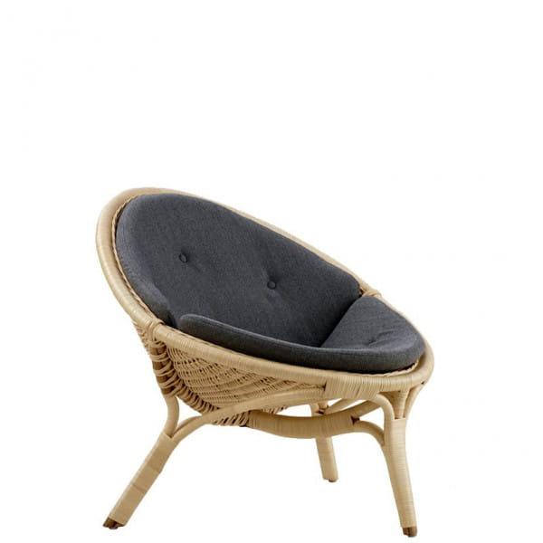 Sika Design Icons Loungesessel Rana mit Kissen