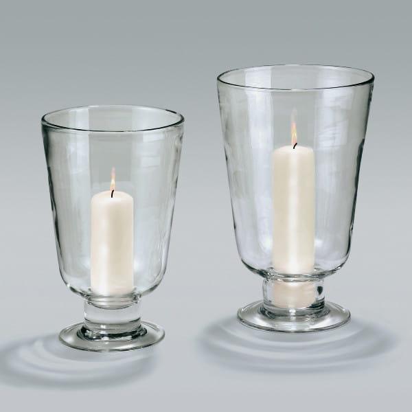 Lambert Gerona Windlicht Vase Klarglas - 2 Größen