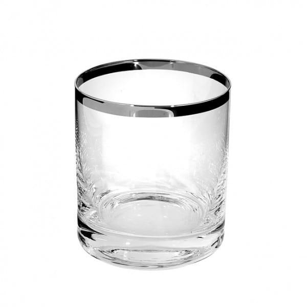 Fink Living Whiskeyglas Platinum