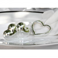 Fink Living 4er-Set-Serviettenring Heart - Ambiente