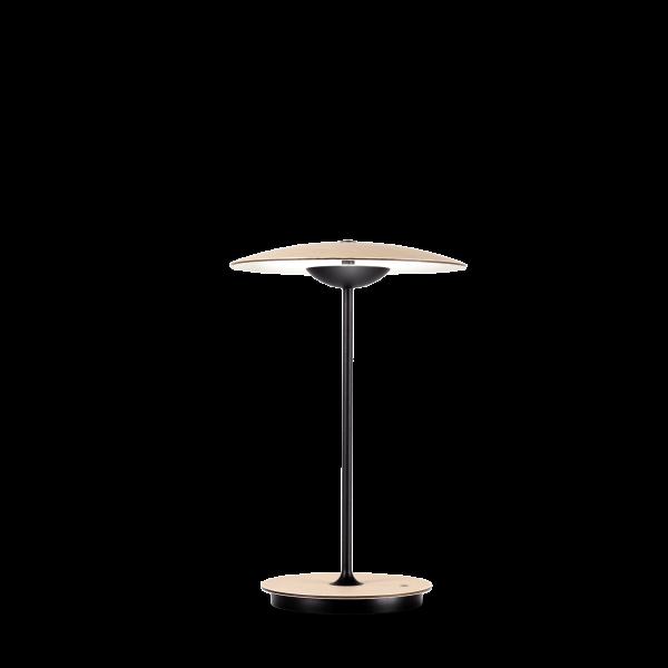 marset Tischleuchte LED Ginger 20 M (Akku) Eiche-Weiß cut-out